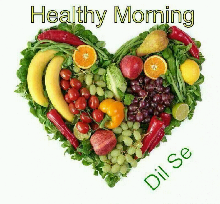 Good Morning Quotes With Fruits: Healthy Good Morning