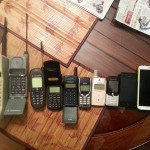 Cell Phones over the years
