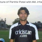 Find out Parthiv Patel in this dp of Mohammed Irfan