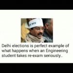 Delhi elections and engineering similarities