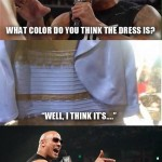 Black & blue or white & gold – the controversial dress