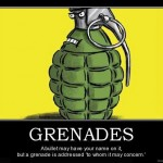 Bullets vs Grenades