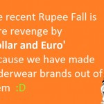 Reason for the Recent Rupee Fall