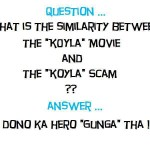 Koyla – The Coal Scam vs Movie