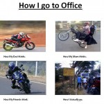 How i really go to office?
