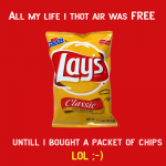 All My Life I Thought AIR Was Free
