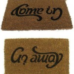 Creative Doormat Design