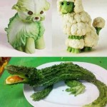 Animals created by Vegetables – Creative