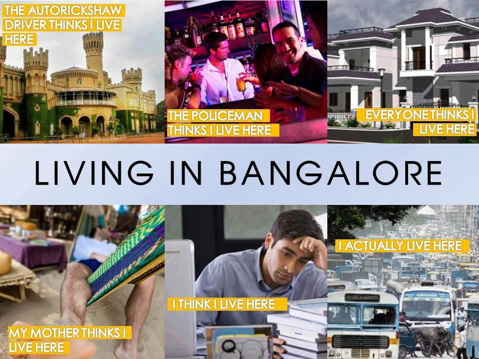 Living in Bangalore - Too Funny - Jokofy Pictures