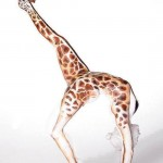 Amazingly Creative Body Art – Giraffe