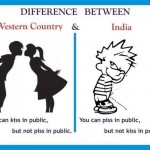 Kiss & Piss – India vs Western Countries