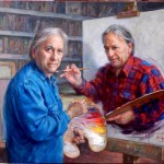 This Painter painted himself painting himself