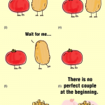 This love story of Potato and Tomato teaches us something..
