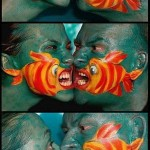 Amazing Face Art – These Fishes are lovely