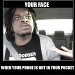 This happens when you loose your phone