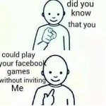 Fed Up with Facebook games Invites