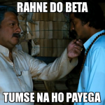 Parent's reaction at the time of results