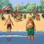 The next generation tanning at beaches