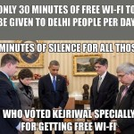 AAP government in Delhi will give free wi-fi