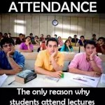 Attendance is the best weapon teachers have