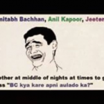Discussion of Amitabh with jeetendra and Anil Kapoor