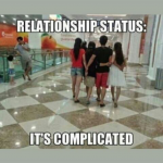 Facebook Relationship status – its complicated