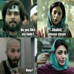Tabu's reactions when Shahid Kapoor shaved his head