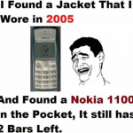 The unbeatable battery of nokia 1100