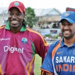 MS Dhoni vs Chris Gayle – who will smile today ?? #won'tgiveitback