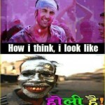 Q. how do i look while playing holi –  Ans. Ranbeer Kapoor