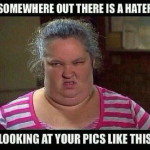 That moment when you see pictures of those whom you hate