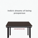 India is developing – under the table
