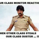 The resposibility of being class monitor – golden school days