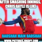 Chris Gayle innings for RCB vs Kings XI Punjab