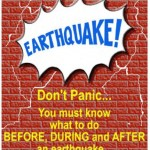 Earthquake strikes again, follow these measures and be safe