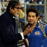 That moment of pride when legends meet – Sachin Tendulkar and Amitabh Bachchan