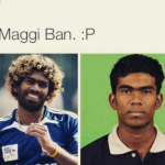 Even Maggi can change lives – effect on Malinga