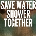 The hot and sensuous way of saving water