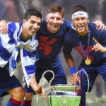 The most dangerous trio – Messi, Neymar jr and Suarez