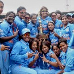 Indian women's cricket team crushed New Zealand to win the series