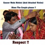 Please respect and bless this couple – acid attack victim