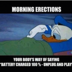 Significance of morning erections well explained