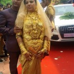 This bride would definitely give complex to bappi lahiri