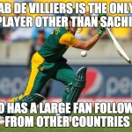 After watching Ab De Villiers innings this is what PK thinks