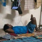 The best way to watch a movie – jugaad way