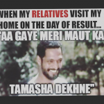 This is the Tamasha that happens at home