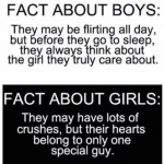 Facts about smart boys and hot girls