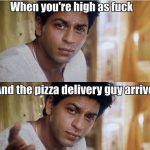 Importance of Pizza delivery when you are tripping