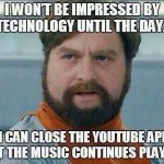 Technology challenged and youtube app trolled