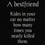 A bestfriend who uses your car – bestfriend trolled